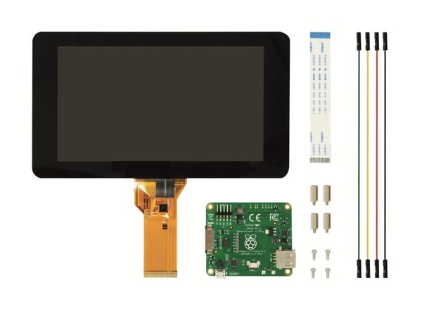 "Raspberry Pi Touch-LCD, 7"" (17,8 cm)"
