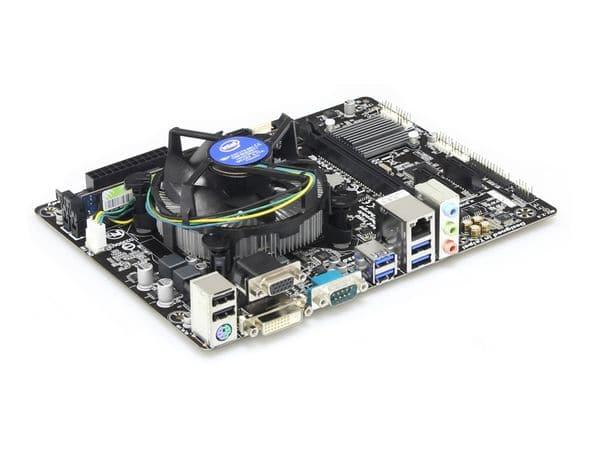 Mainboard-Bundle GIGABYTE GA-H81M-D2V, Intel G1840, 4 GB