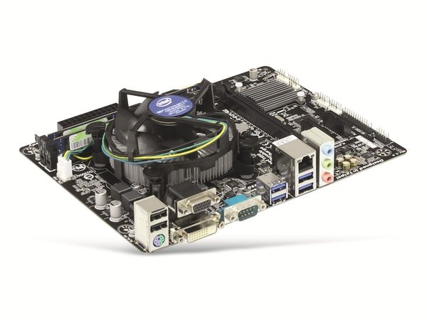Mainboard-Bundle GIGABYTE GA-H81M-D2V, Intel i5-4590, 8 GB