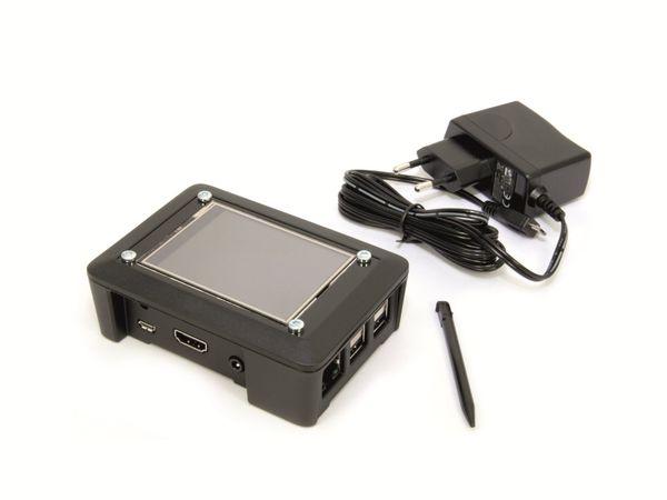 "Raspberry Pi 2 mit Touch-Display ""Display T. Box"", 16 GB microSD-Karte"