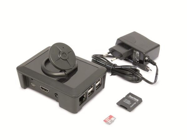 Raspberry Pi 2 CamBox, Kameramodul, 16 GB microSD-Karte, Netzteil - Produktbild 2