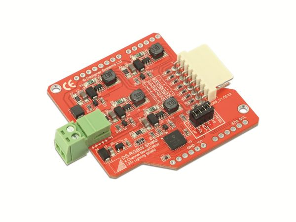 LED-Driver Shield DESIGNER SYSTEMS DS-RGBW.S LED Lightning Shield - Produktbild 1