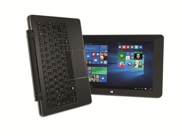 "Tablet-PC TREKSTOR SurfTab duo W1 3G, 10,1"", FullHD, Windows 10, schwarz - Produktbild 1"