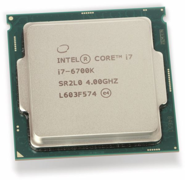 CPU Intel Core i7-6700K, 4GHz, 8MB - Produktbild 3