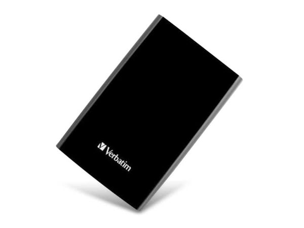 Externe USB 3.0 Festplatte VERBATIM Store 'n' Go, 750 GB, schwarz