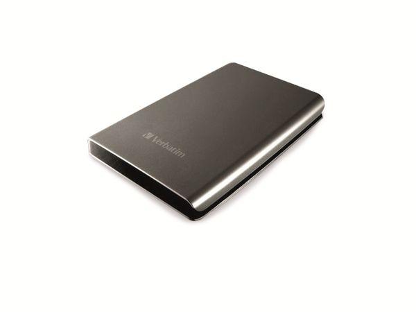 Externe USB 3.0 Festplatte VERBATIM Store 'n' Go, 500 GB, silber