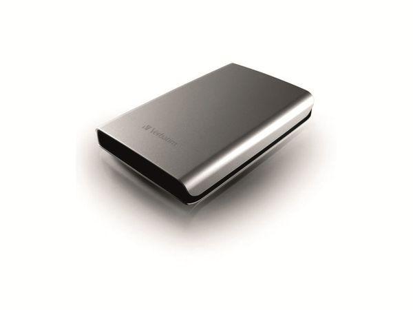Externe USB 3.0 Festplatte VERBATIM Store 'n' Go, 1 TB, silber - Produktbild 2