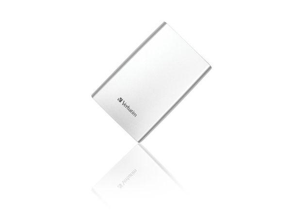 Externe USB 3.0 Festplatte VERBATIM Store 'n' Go, 1 TB, silber - Produktbild 3