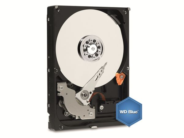 SATA III Festplatte WD Blue WD10EZRZ, 1 TB - Produktbild 1