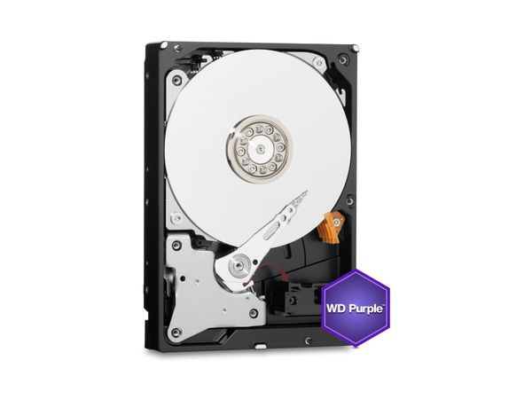 SATA III Festplatte WD Purple WD10PURX, 1 TB - Produktbild 1
