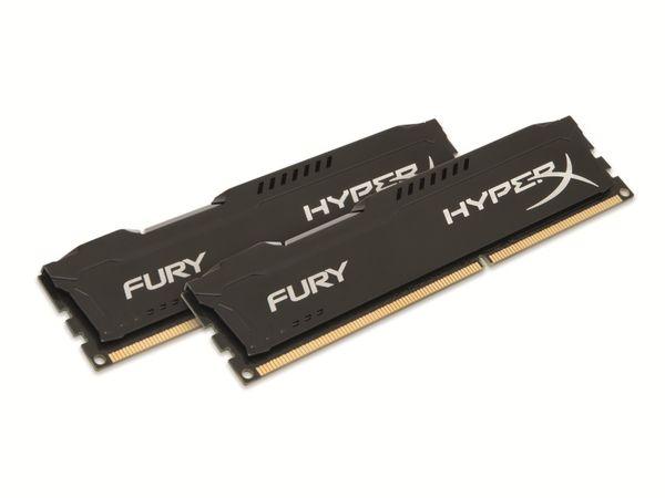 Speichermodul KINGSTON HyperX FURY Black Series (HX421C14FBK2/8), 8 GB