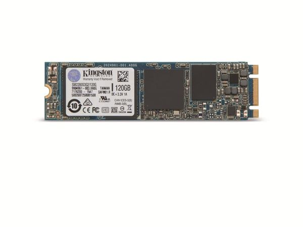 M.2-SSD KINGSTON SM2280S3G2/120G , 120 GB - Produktbild 3