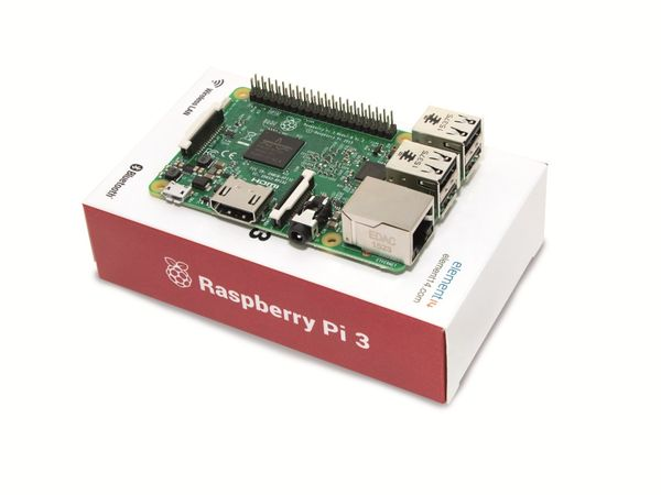 Raspberry Pi 3 Model B - Produktbild 3
