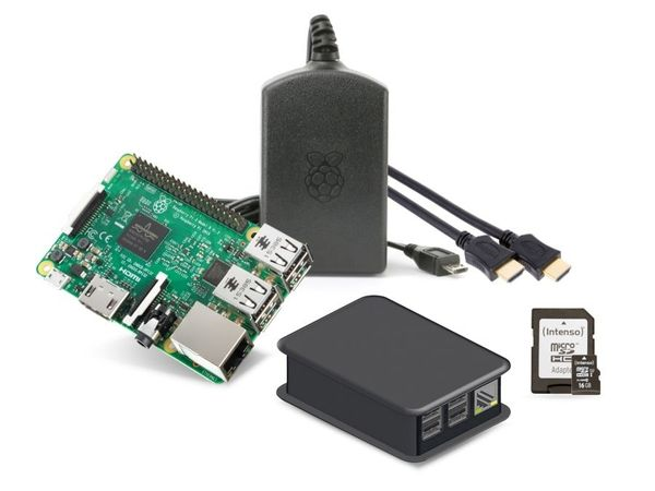 Raspberry Pi 3 Model B Starter Kit