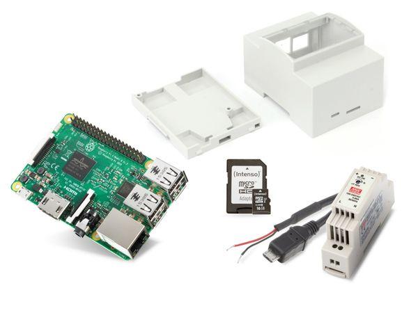 Raspberry Pi 3 Hutschienen-Set - Produktbild 1