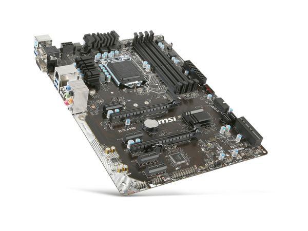 Mainboard MSI Z170A Pro, Intel, Sockel 1151 - Produktbild 1