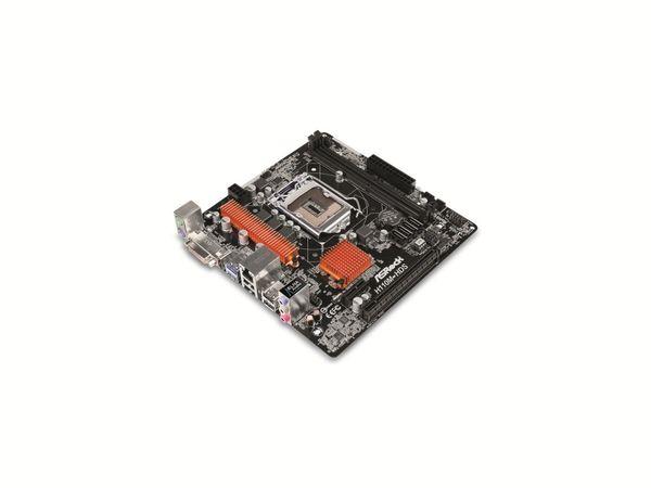 Mainboard ASROCK H110M HDS, Intel, Sockel 1151 - Produktbild 1