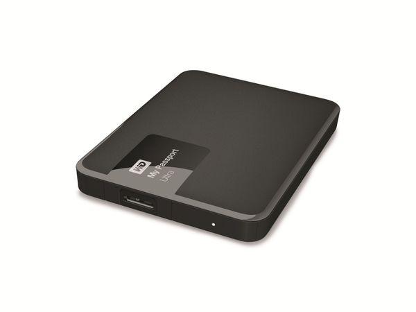 Externe USB 3.0 Festplatte WD My Passport Ultra, 1 TB, schwarz - Produktbild 1