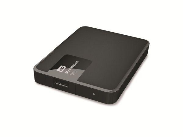 Externe USB 3.0 Festplatte WD My Passport Ultra, 2 TB, schwarz - Produktbild 1
