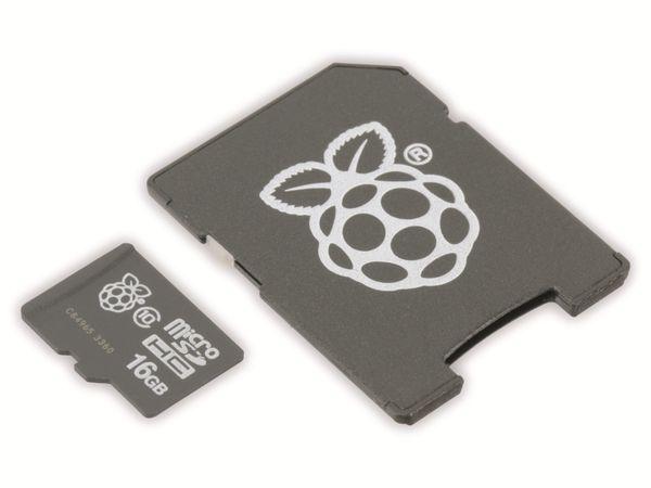 NOOBS, vorinstalliert auf 16 GB microSD-Karte - Produktbild 1