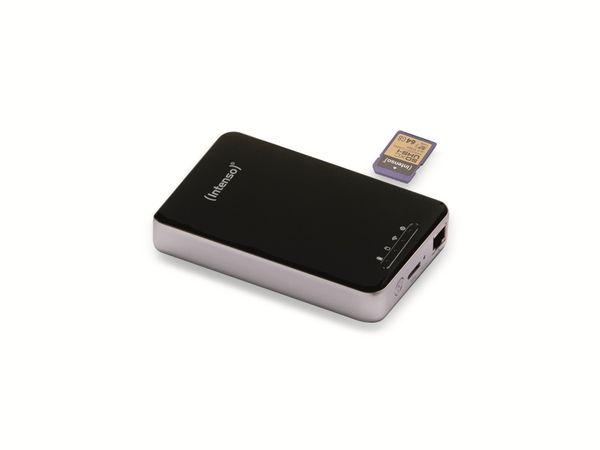 USB 3.0 HDD INTENSO Memory 2 Move Pro, WLAN, 1 TB, schwarz - Produktbild 1
