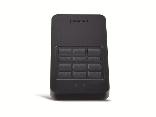 USB 3.0 HDD INTENSO Memory Safe, AES, 1 TB, schwarz - Produktbild 1