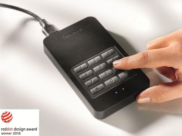 USB 3.0 HDD INTENSO Memory Safe, AES, 1 TB, schwarz - Produktbild 4