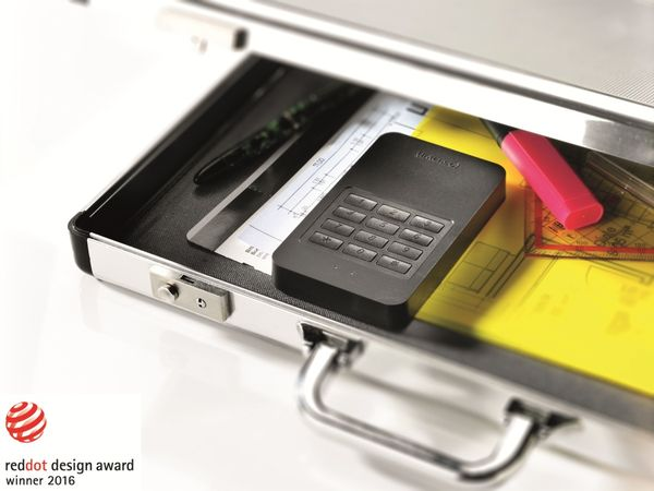 USB 3.0 HDD INTENSO Memory Safe, AES, 1 TB, schwarz - Produktbild 5