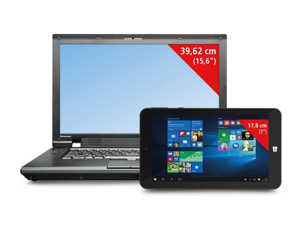 Bundle: Notebook LENOVO THINKPAD L520 + Tablet TREKSTOR, Refurbished - Produktbild 1