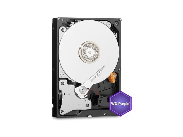 """HDD WESTERN DIGITAL WD80PURX Purple, 3,5"""", 5400 RPM, SATA III, 8 TB - Produktbild 1"""