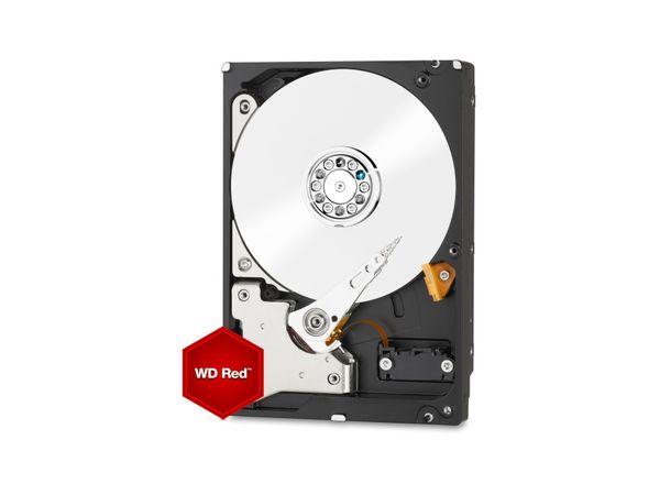 """HDD WESTERN DIGITAL WDBMMA0060HNC-ERSN Red, 3,5"""", 5400 RPM, SATA III, 6 TB"""