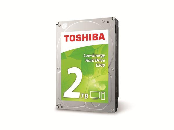 "HDD TOSHIBA E300 HDWA120EZSTA, 8,89 cm (3,5""), 2 TB"