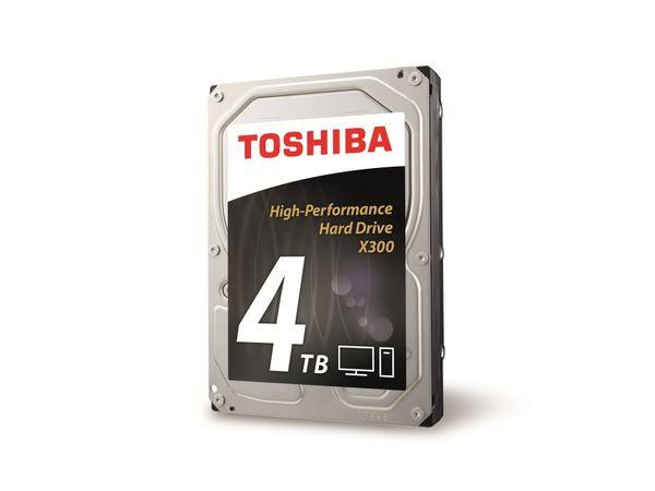 """HDD TOSHIBA X300 HDWE140EZSTA, 8,89 cm (3,5""""), 4 TB"""