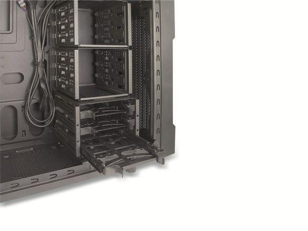 PC-Gehäuse INTER-TECH EM-01, Midi - Produktbild 2