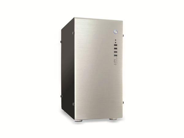 PC-Gehäuse INTER-TECH AP-1, Midi Aluminium - Produktbild 1