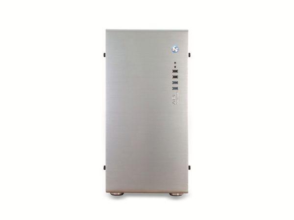 PC-Gehäuse INTER-TECH AP-1, Midi Aluminium - Produktbild 2