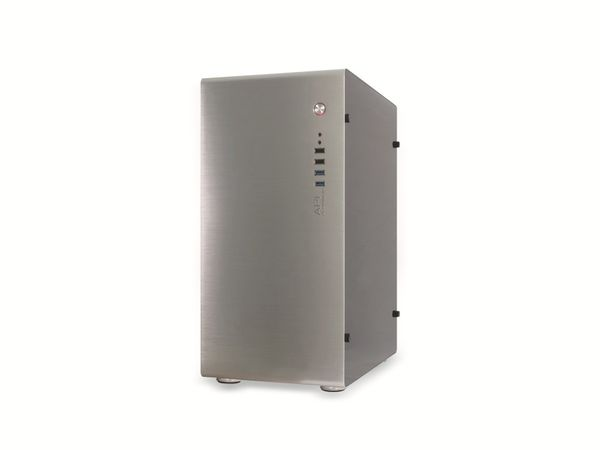 PC-Gehäuse INTER-TECH AP-1, Midi Aluminium - Produktbild 3
