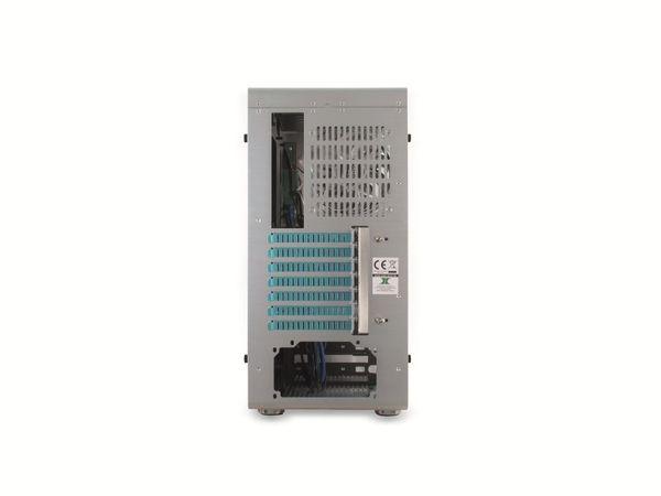 PC-Gehäuse INTER-TECH AP-1, Midi Aluminium - Produktbild 4