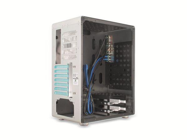 PC-Gehäuse INTER-TECH AP-1, Midi Aluminium - Produktbild 7
