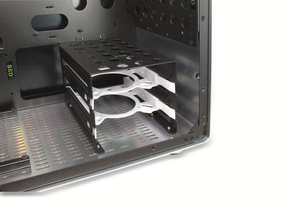 PC-Gehäuse INTER-TECH AP-1, Midi Aluminium - Produktbild 8