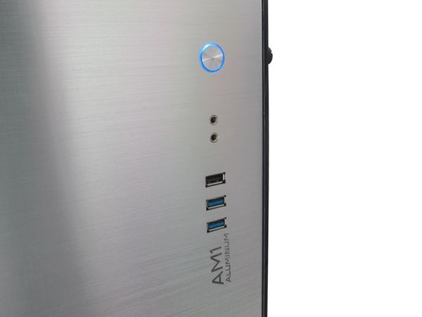 PC-Gehäuse INTER-TECH AM-1, Micro Aluminium - Produktbild 9