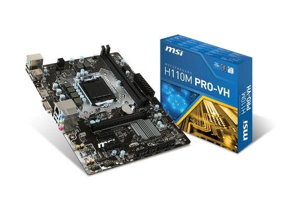 Mainboard MSI H110M Pro-VH 7996-008R - Produktbild 4