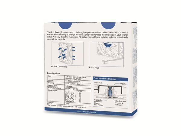 PC-Lüfter ARCTIC F12 PWM - Produktbild 2