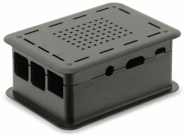 Raspberry Pi Gehäuse TEKO TEK-RPI-XL3.9, schwarz - Produktbild 1