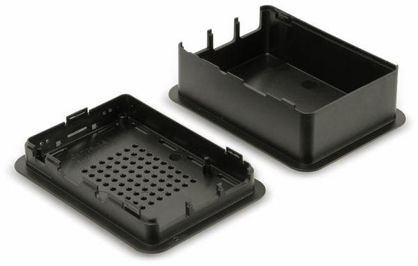 Raspberry Pi Gehäuse TEKO TEK-RPI-XL3.9, schwarz - Produktbild 3