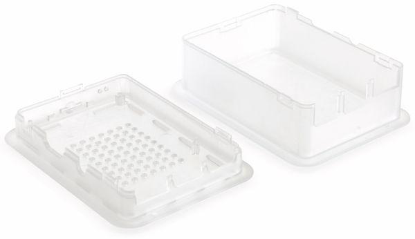 Raspberry Pi Gehäuse TEKO TEK-RPI-XL3.9, transparent - Produktbild 2