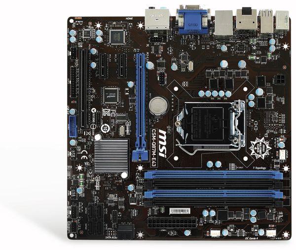 Mainboard MSI CSM-Q87M-E43, LGA1150 - Produktbild 1