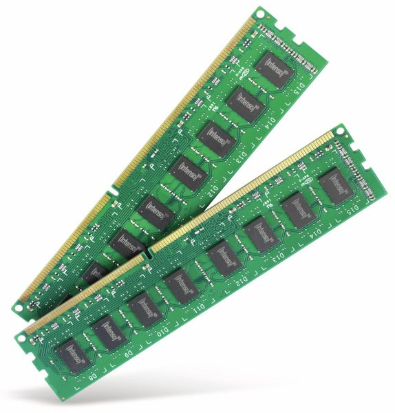 Speichermodul INTENSO Desktop Pro DDR3, 2x 8 GB, 1600 MHz, CL11