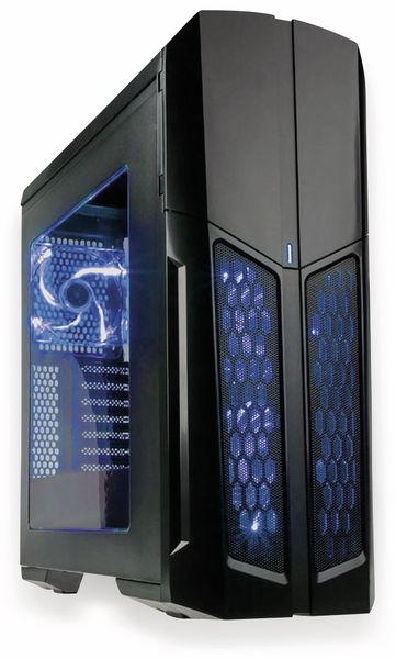 PC-Gehäuse KOLINK Vault, Midi-Tower, 3 Lüfter LED - Produktbild 1