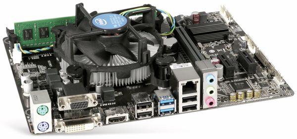Mainboard-Bundle Gigabyte GA-H110M-S2H, Intel Celeron G3900, 4GB - Produktbild 1